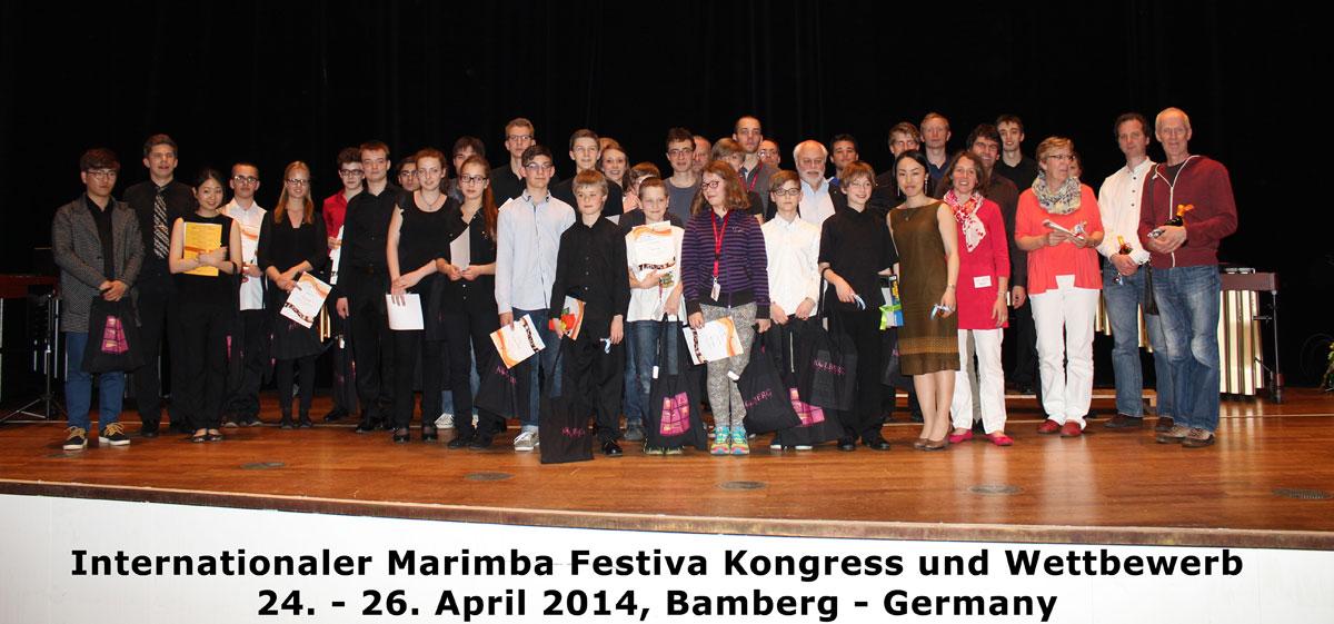 Marimba-Festiva-Wettbewerb (Bamberg 2014)