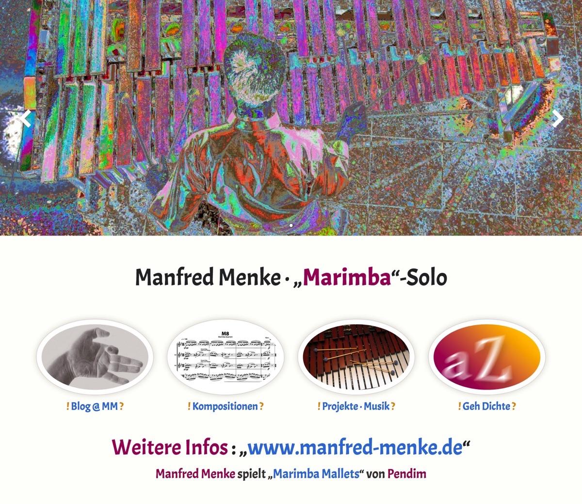 Marimba-Solo · Homepage 2015