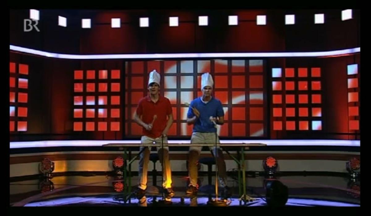 """TV-Sendung Mia san Mia mit """"Eine kleine Tischmusik"""" (28. Oktober 2011)"""