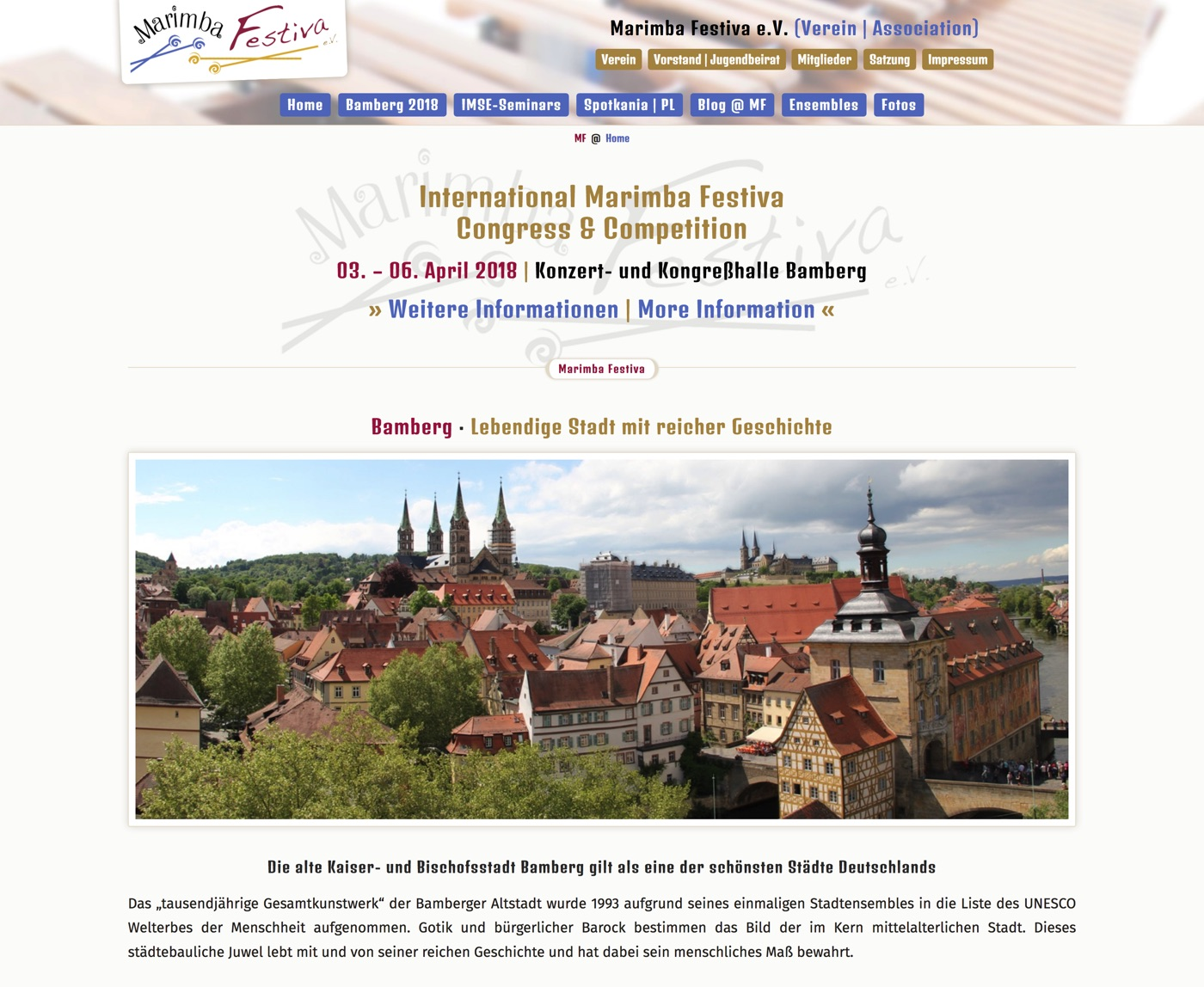 Marimba-Festiva @ Bamberg 2018