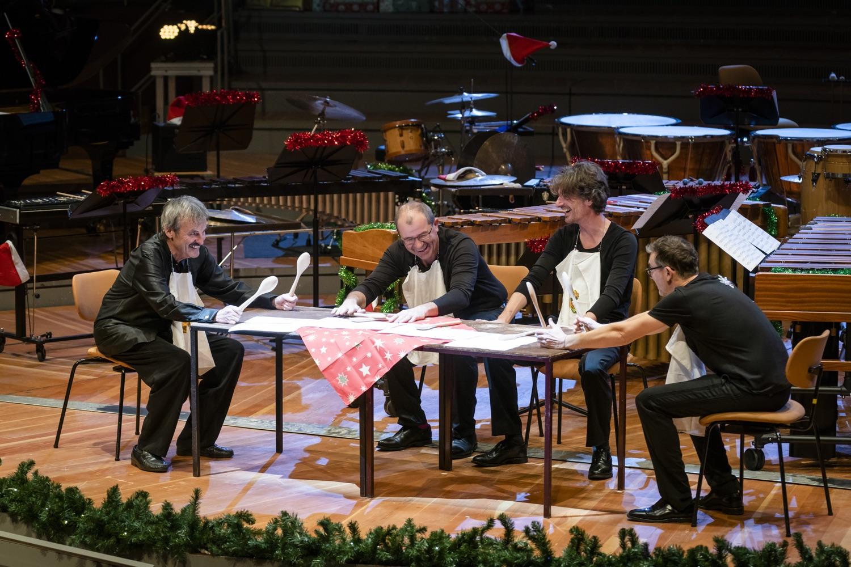 Winter Drummerland · Eine kleine Tischmusik