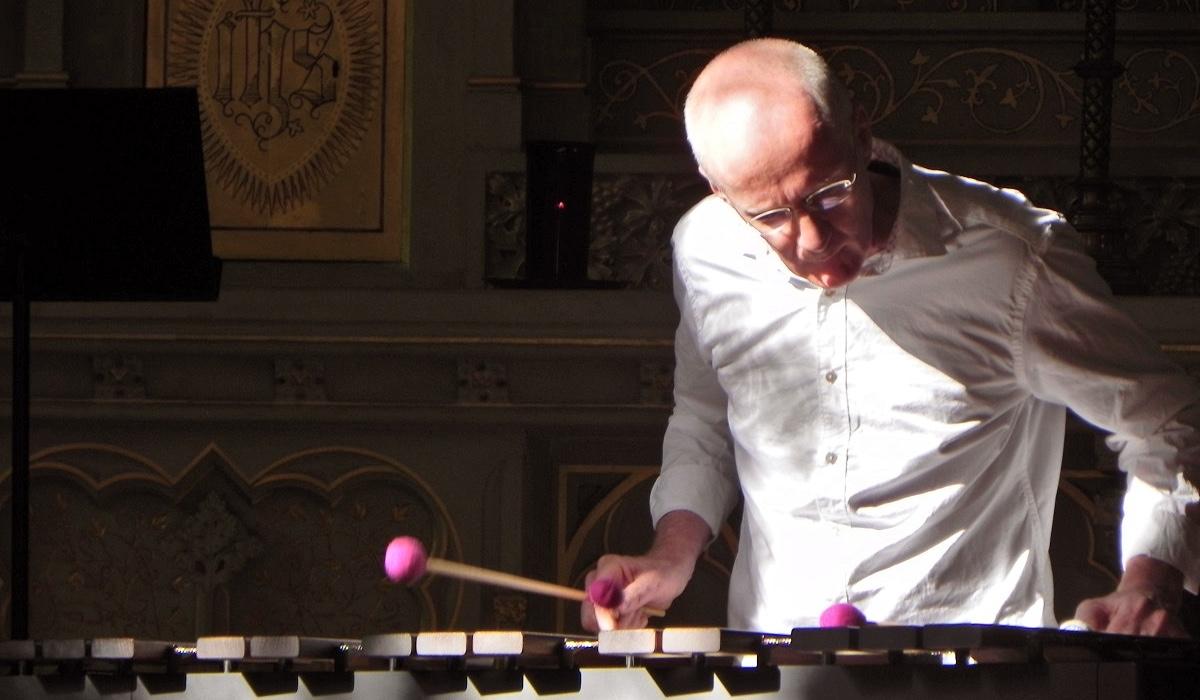 Burgkapelle Dinklage · 3. Juli 2019 · Manfred Menke spielt Feierabend (Marimba-Solo)