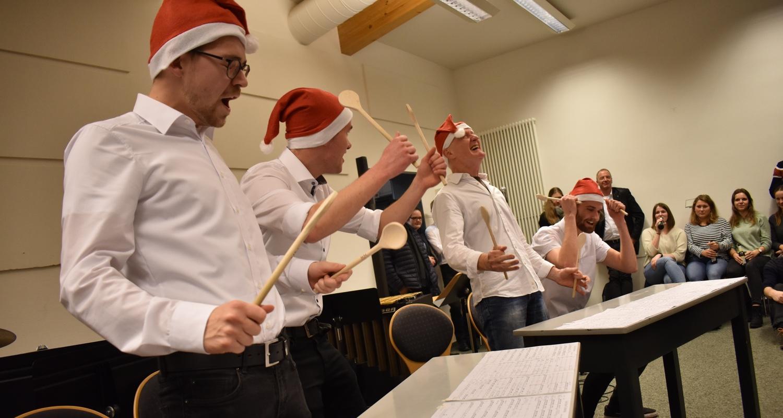 Weihnachtskonzert · zak!bum · Lukas, Jannes, Manfred und Immo · 18. Dezember 2019