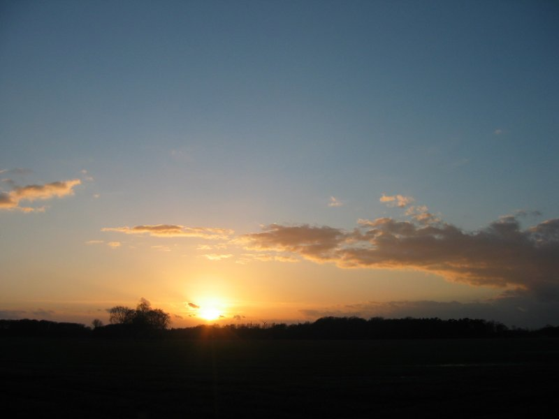 Abendhimmel @ 05. März 2007