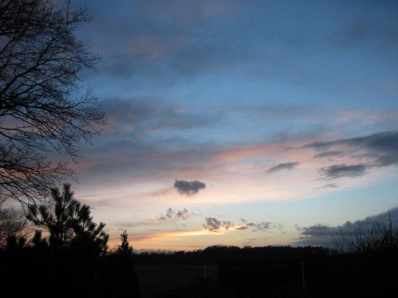 Abendhimmel @ 20. März 2007