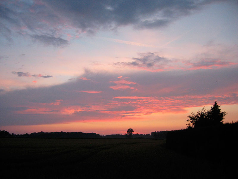 Abendhimmel @ 01. Juli 2007