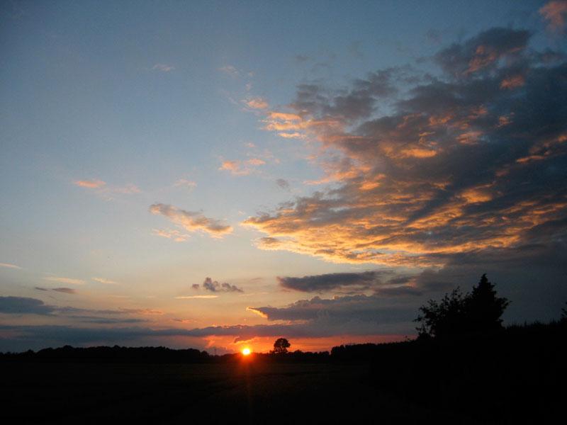 Abendhimmel @ 02. Juli 2007