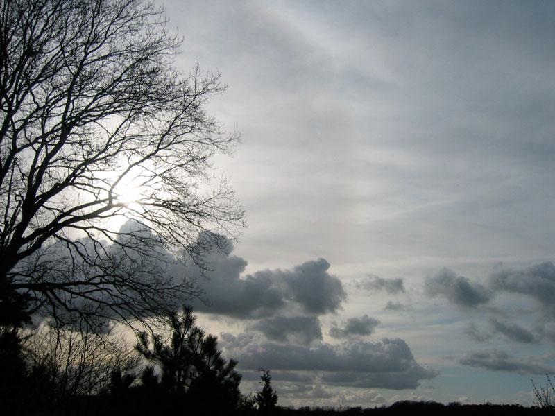 Licht und Wolken @ 20. März 2007