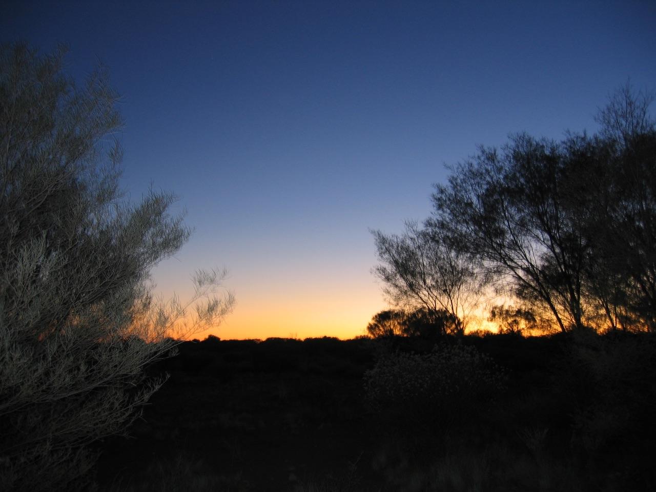 Sonnenaufgang @ Ayers Rock