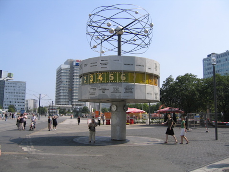 Weltzeituhr @ Alexanderplatz-Berlin