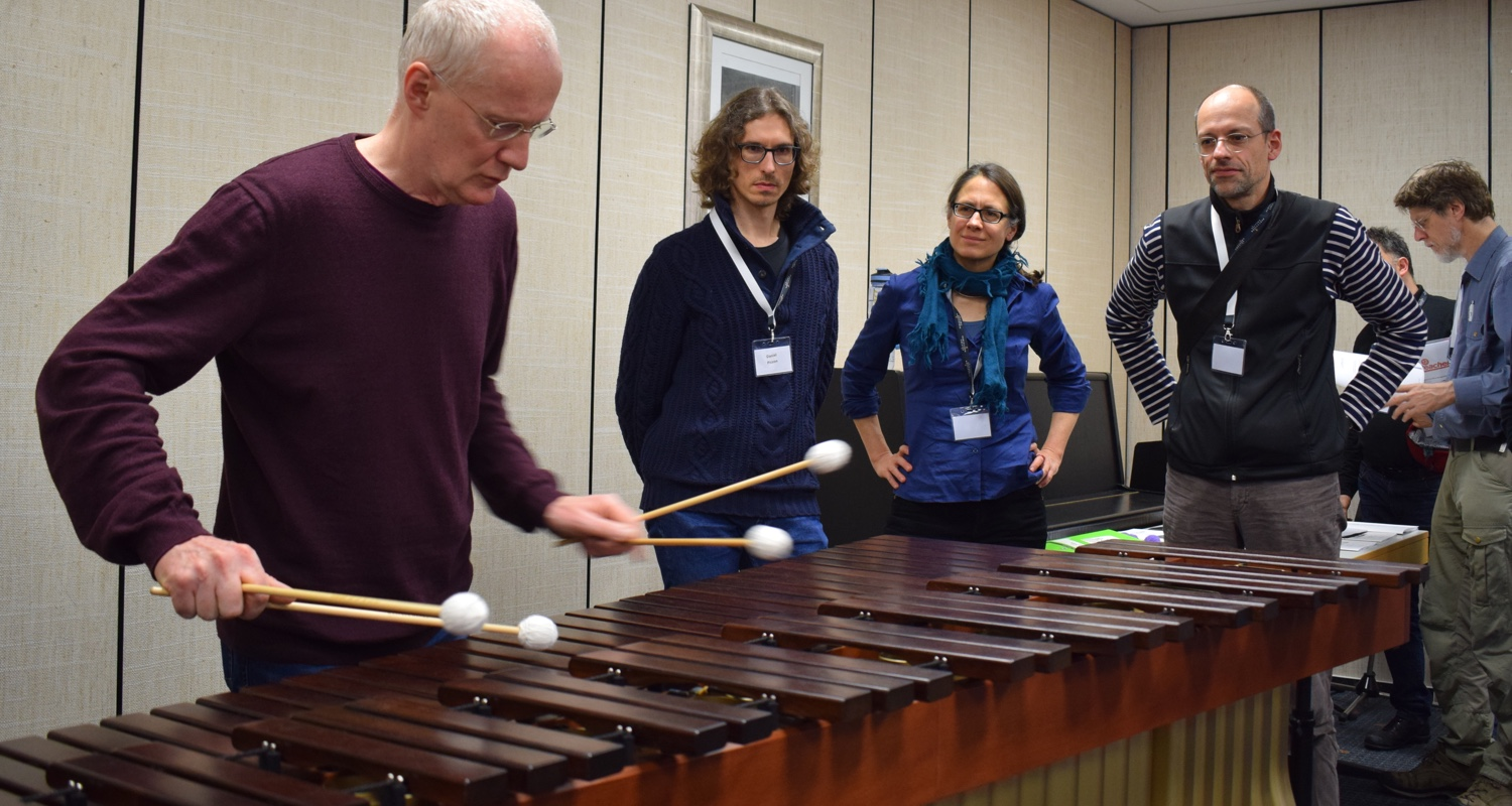 Marimba-Workshop · Percussion Creativ Teachertage (2019)