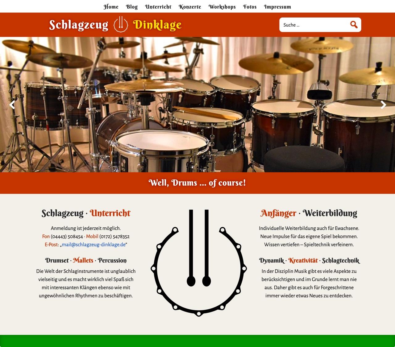 Schlagzeug Dinklage