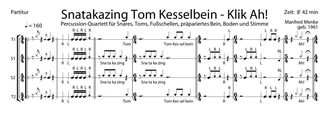 Snatakazing Tom Kesselbein – Klik Ah!