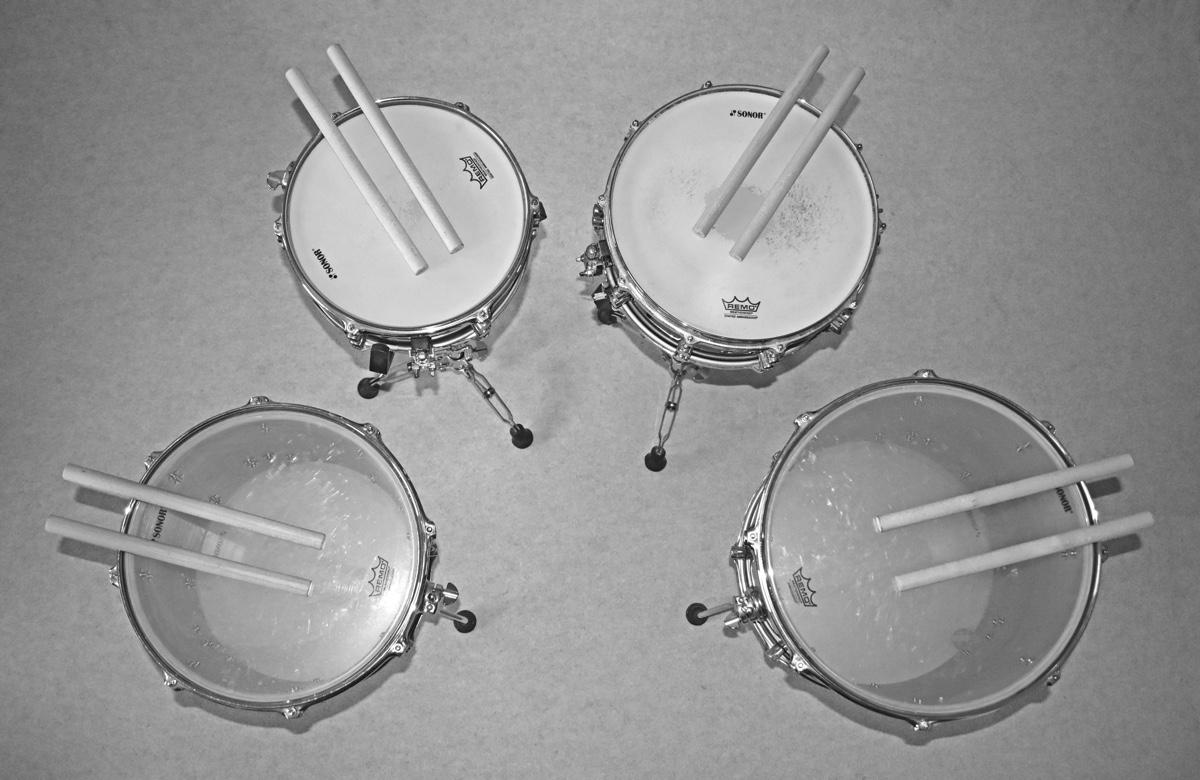 Snatakazing » Vier Trommeln als Titelbild