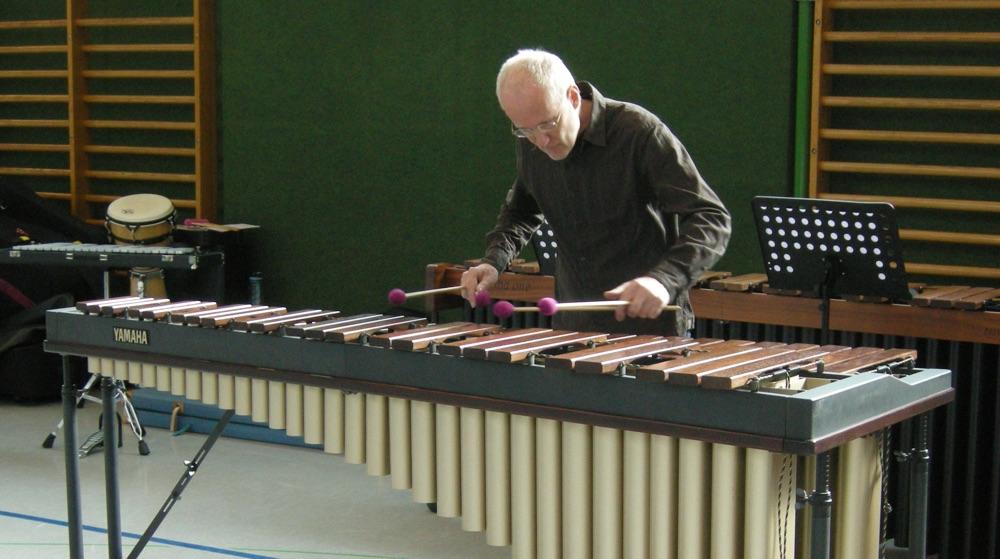 """Marimba-Solo · """"Feierabend"""" · Manfred Menke"""