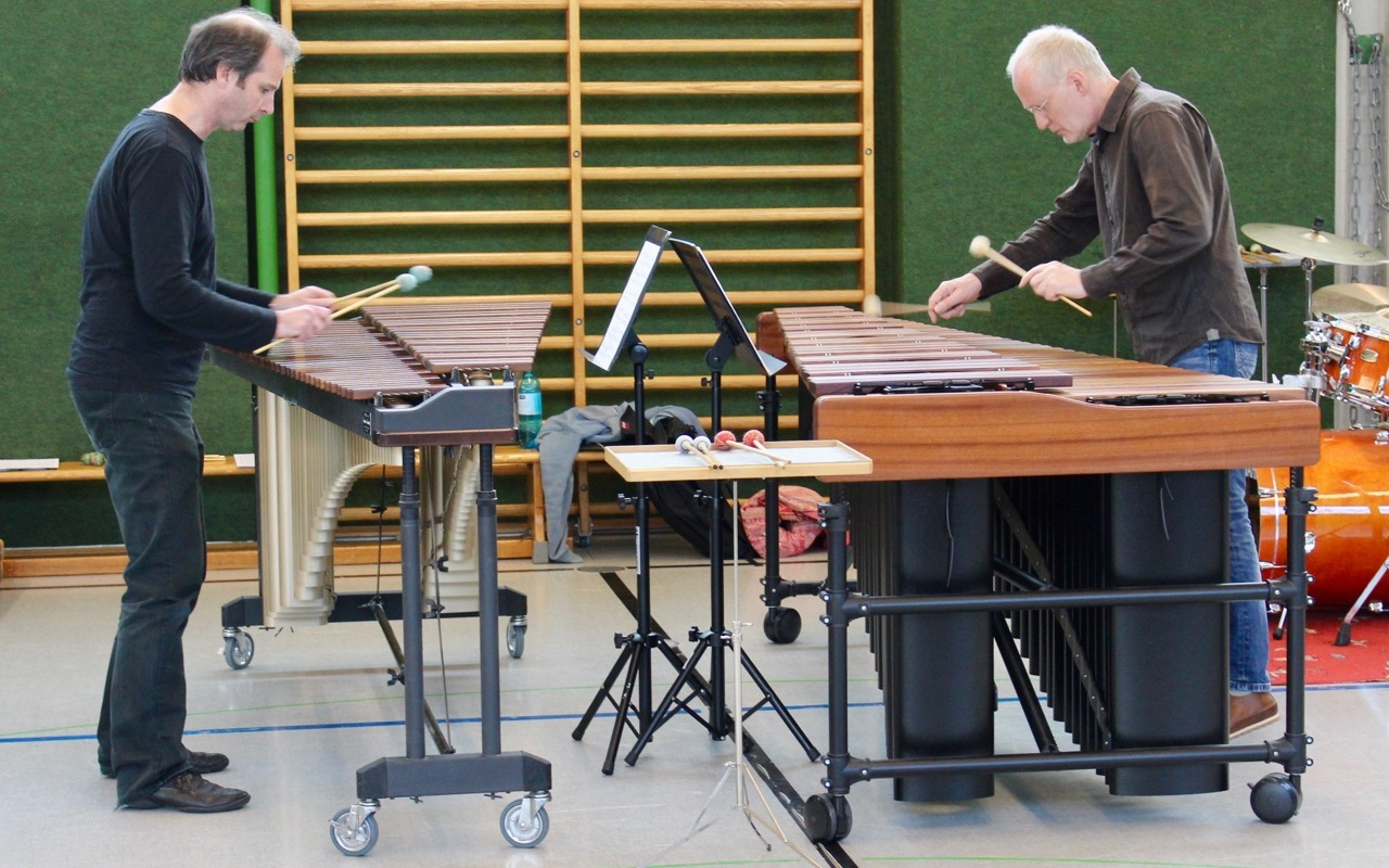 Marimba-Duo · Hans-Peter Krause und Manfred Menke
