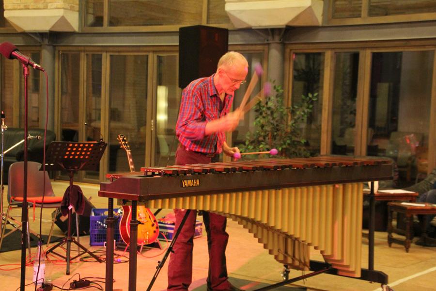 Kulturnacht Braunschweig 2012 // Manfred Menke · Marimba-Solo