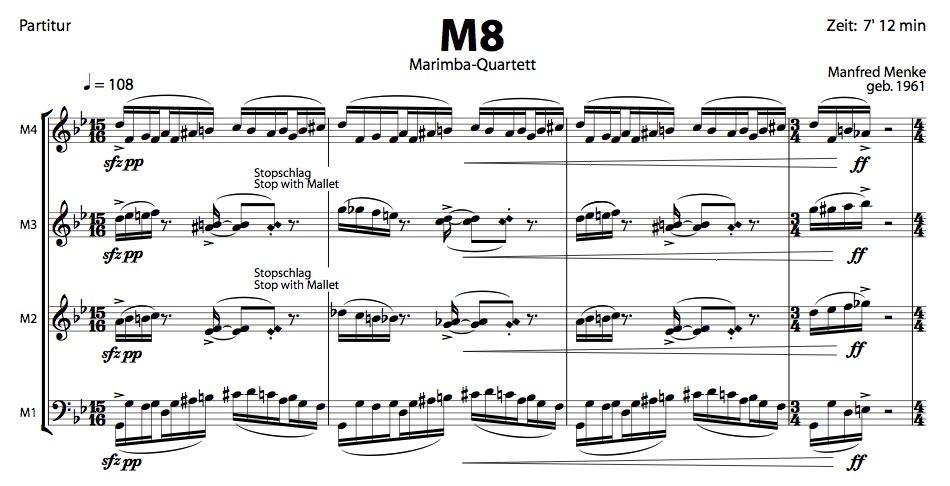 M8-Partitur
