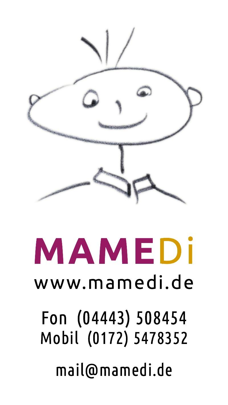 MAMEDi-Visitenkarte