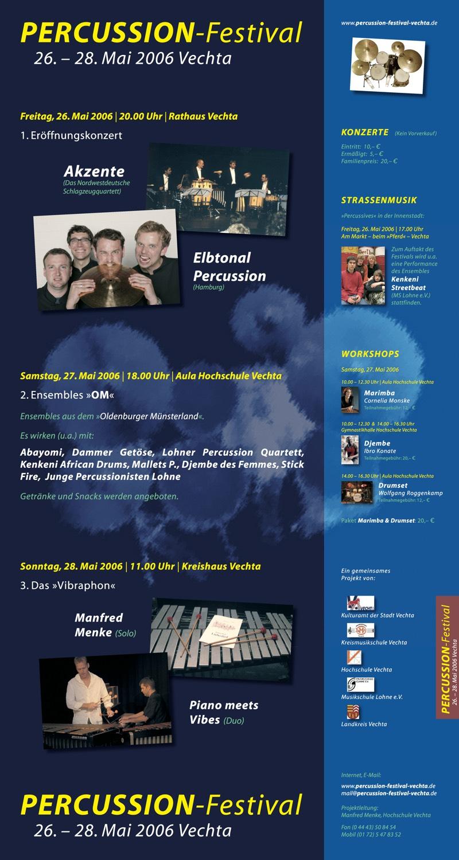 Percussion-Festival Vechta 2006
