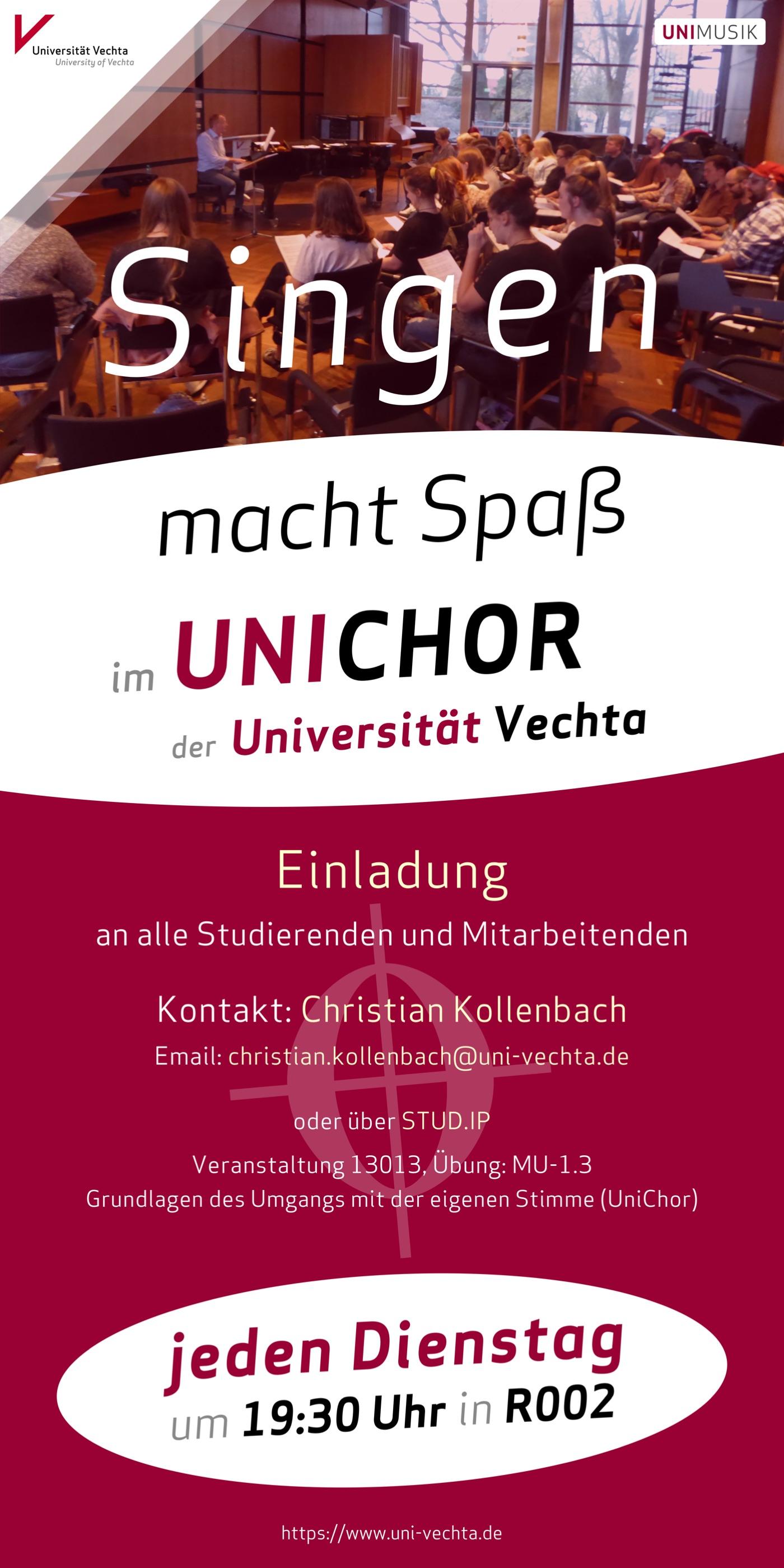 UNICHOR · Plakat 2018