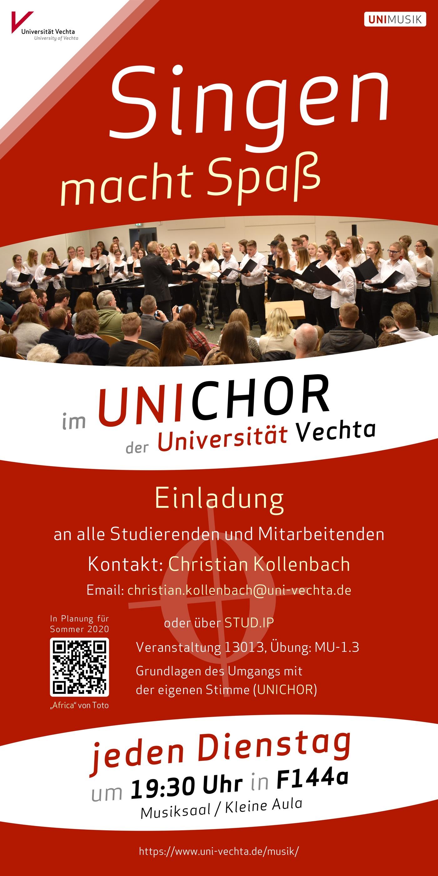 UNICHOR · Plakat 2020