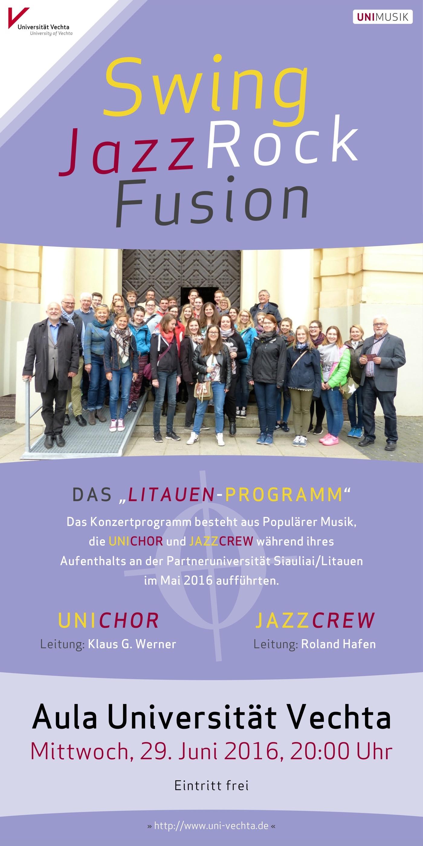 UNICHOR und JazzCrew