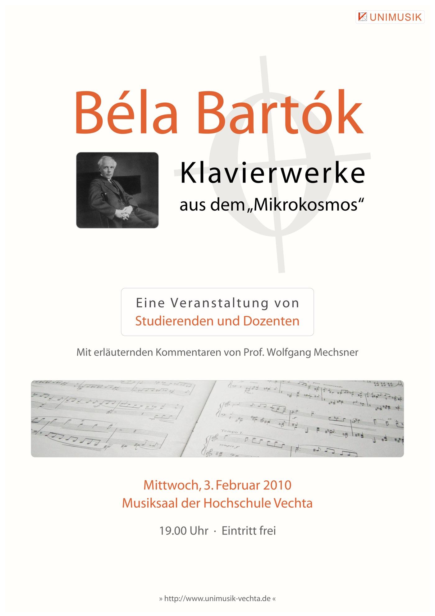 Bela Bartok · UNIMUSIK