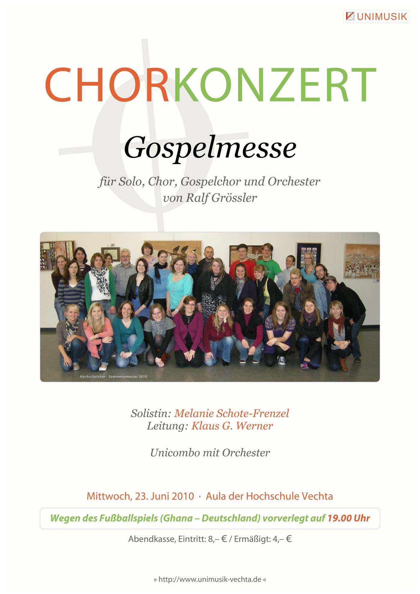 Chorkonzert · UNIMUSIK