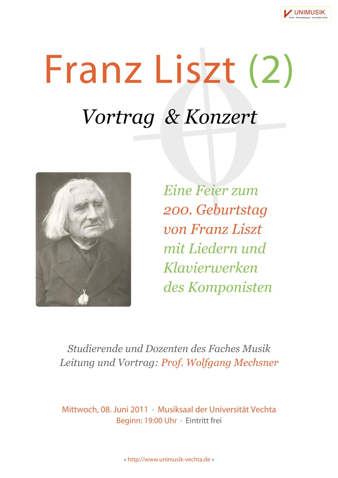 Franz Liszt (2) · UNIMUSIK