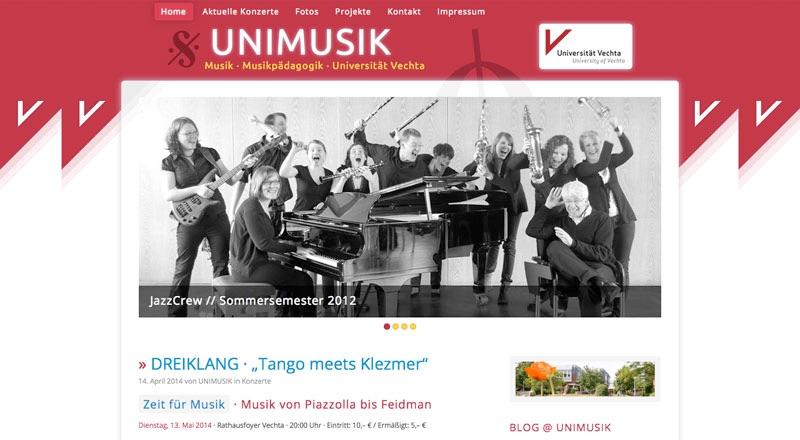Homepage 2014 · UNIMUSIK