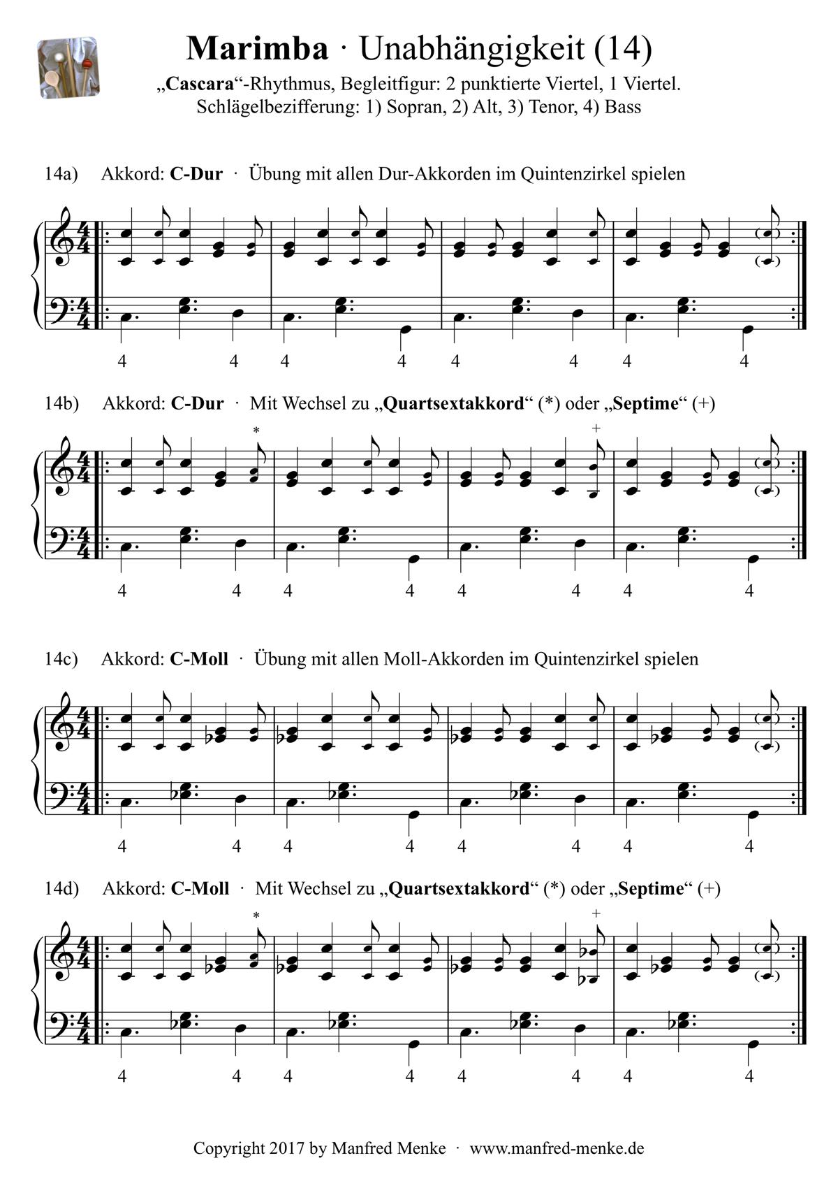 Marimba · Unabhaengigkeit (Seite 14)