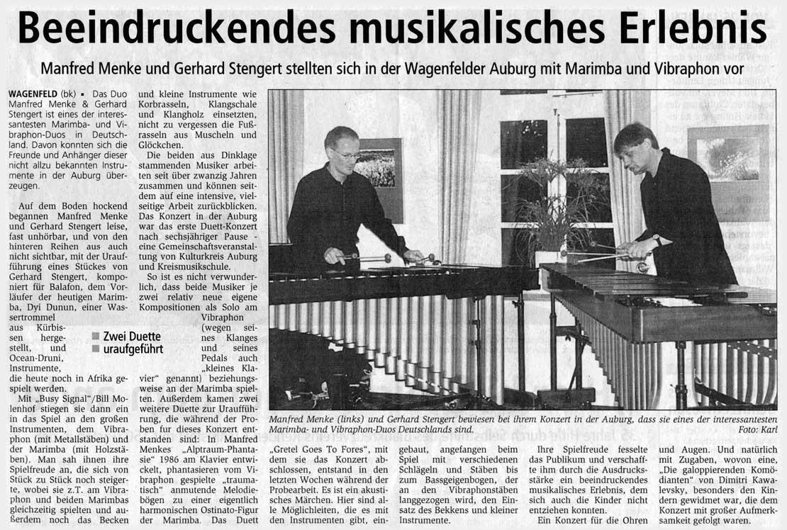 Menke-Stengert-Duo