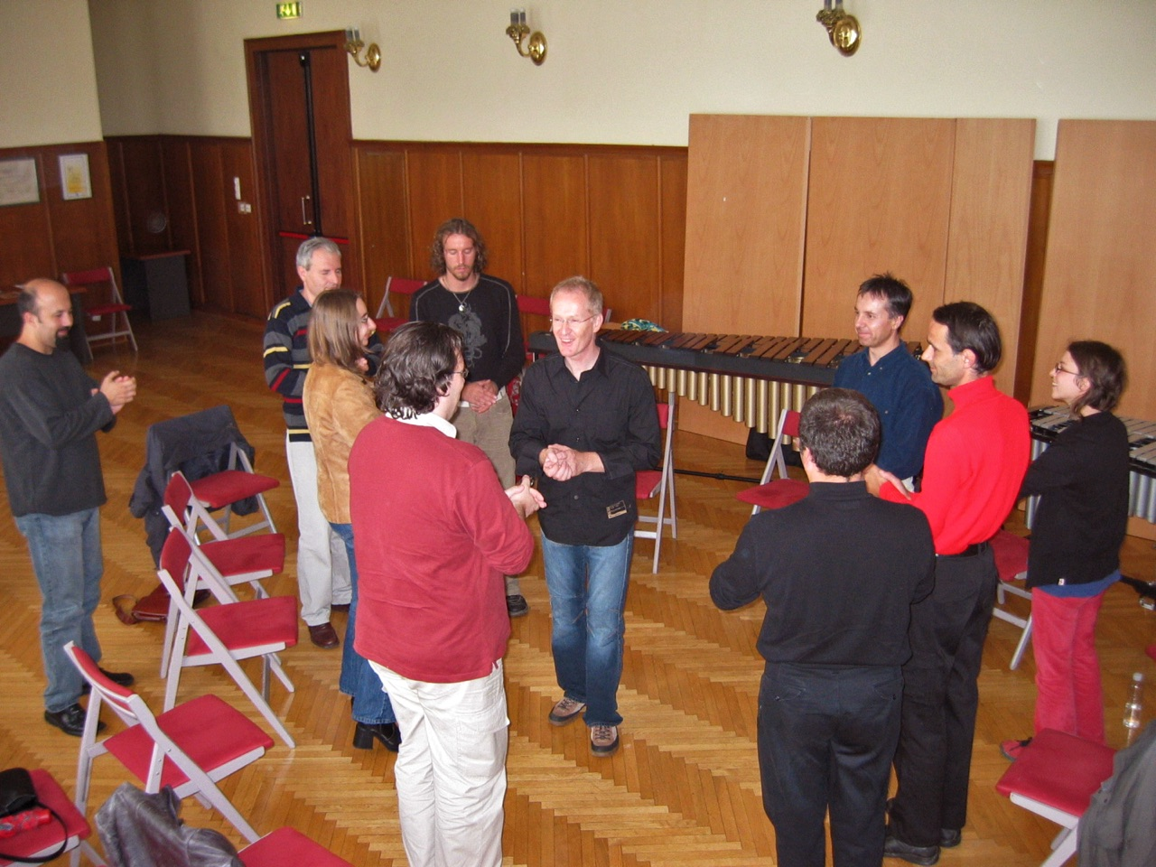 Seminar · Body-Percussion · Slowenische Philharmonie (21. September 2005)