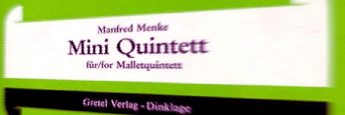 """Nachdruck für """"Miniquintett"""""""