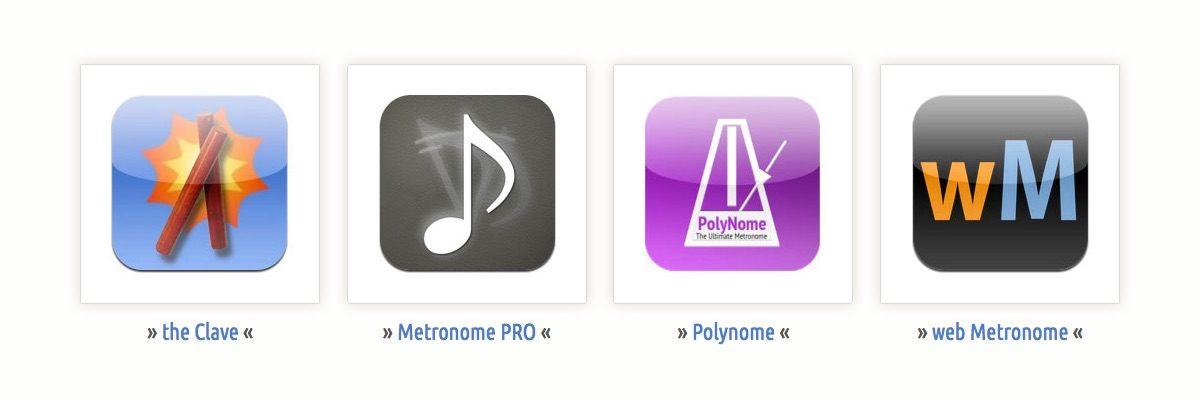 """Gutes """"TIMING"""" mit Metronome-Apps"""