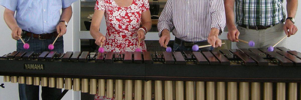 Marimba-Konzert im Autohaus Ruhe