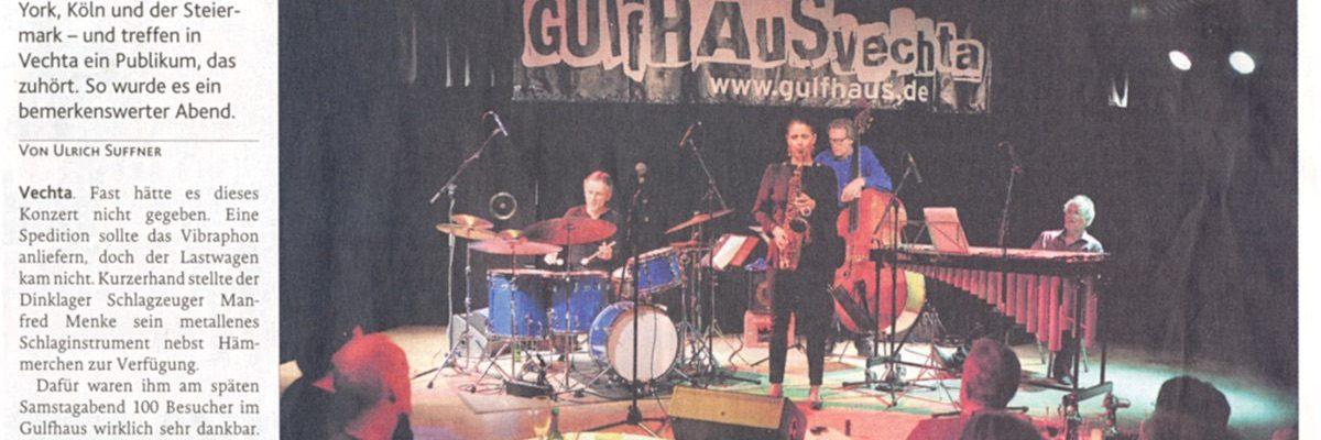 KLARO!-Quartett bei Jazz im Gulfhaus